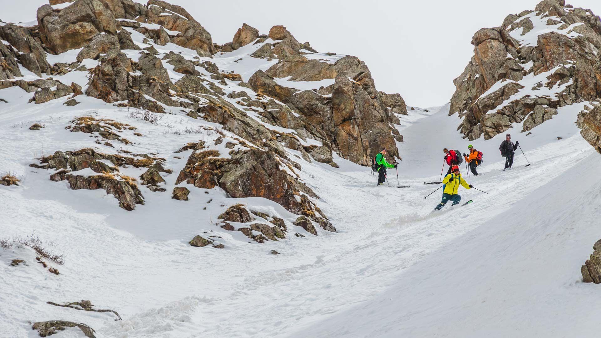 Colouir In Jergalan Auf Der Skitouren Reise Kirgistan