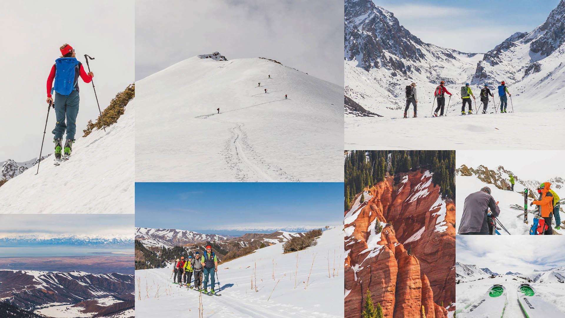 Skitouren In Kirgistan Mit Bergfuehrer